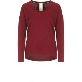 super.natural City Maglietta Donna, rosso